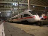 Hauptbahnhof Station - Now that looks fast