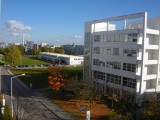 Siemens Campus - shot from 6th floor window
