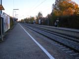 Siemenswerke train stop by the office