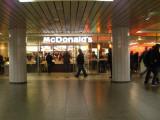 McDonalds in Hauptbahnhof