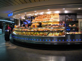 Hauptbahnhof is well equipped with food places