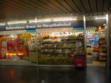 Hauptbahnhof is well equipped with mini marts