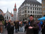 Found Chuck at Marienplatz