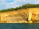 Recent cliff collapse - Pictured Rocks National Lakeshore