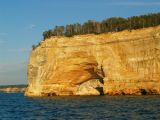 Grand Portal (showing the collapse) - Pictured Rocks National Lakeshore