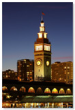 Ferry Building & Market Street Clock
