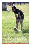 Dog lovers for the dog show