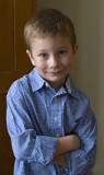 Skyler, Christmas 2008
