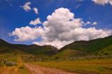 Spring Cumulus Clouds, Mantua, Utah
