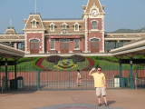 Paul visits Hong Kong Disneyland           September 15