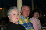 Mary and Mike Hines, Lynn Pepper