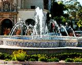fountain in Balboa Park, San Diego