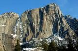 Yosemite Falls and Yosemite Point
