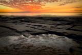 Sunset across the Tesselated Rocks