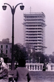 Liberty Hall being built