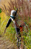 Curious Diver Scarecrow