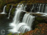 Waterfall in Brecon
