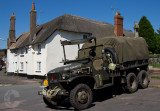 US Army truck in Devon