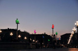 Late evening in Place Massena