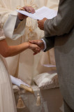 The reading of the vows