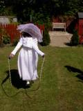 Skipping in the garden