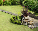Water feature : a closer view