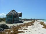 A little hut on the beach