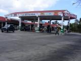 Cuban gas station....1.21 CUC