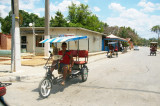Typical Cuban taxi