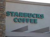 Starbucks Coffee Car