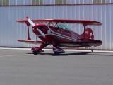biplane at Chandler airport
