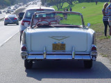 Malibu 57 Chevy Convertible Sunday