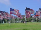 Pepperdine University Malibu Flags Sunday