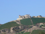 Malibu house on hill Sunday