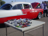 hot wheels at the 55 Chevy car show