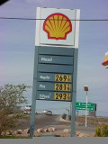 Shell gas prices