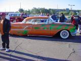 low rider custom car