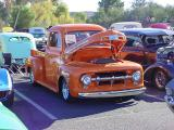 orange Ford pickup