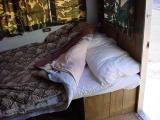 made up bed