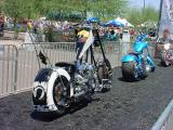 Orange County Choppers show on Mill Avenue