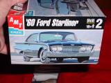 1960 Ford Starliner2 door hardtop 1/25 AMT