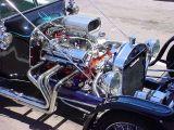 350 Chevy V8 23 T bucket roadster