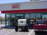 Dunkin Donuts23 T bucket roadster