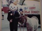 meet Larrythe crime donkey