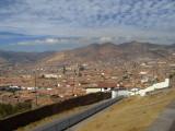 Cusco desde la montañas cercanas