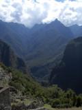 Vista desde Machu Picchu