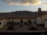 Atardecer en Cusco. FIN DE VIAJE