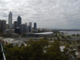 Perth and The Swan River from Kings Park