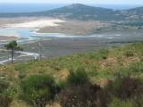 Laguna y Marismas de Carregal desde Miradoiro a Pedra de Ra