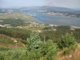 A Guarda. Vista desde el Monte de Santa Tegra